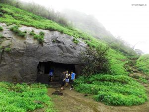 Caves at the fort which is used for night stay during winters