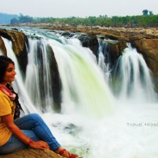 Bhedaghat Dhuadhaar travel Madhya Pradesh
